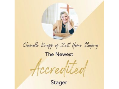 Zest Home Staging Shares Home Staging News!