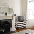 Brighton, East Sussex, three-bed house staged to sell