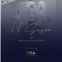 1:1 Sessions with Paloma Harrington-Griffin
